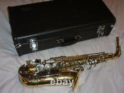 Yamaha YAS 23 Alto Saxophone With Mouthpiece, Strap, Reed. Plays Great, Nice