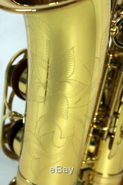 Yamaha YAS-62 Alto Saxophone With 4C Mouthpiece & Carrying Case Made in Japan