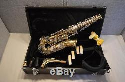 Yamaha Yas-23 Alto Saxophone With Case & Mouthpiece Excellent Condition