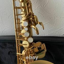 Yamaha Yas-62 Alto Saxophone with Case and Care Kit Good Condition Made in Japan