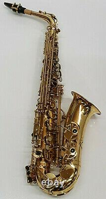 Yanagisawa A-500 Saxophone Alto in Gold Finish & Berkeley Case Complete Outfit